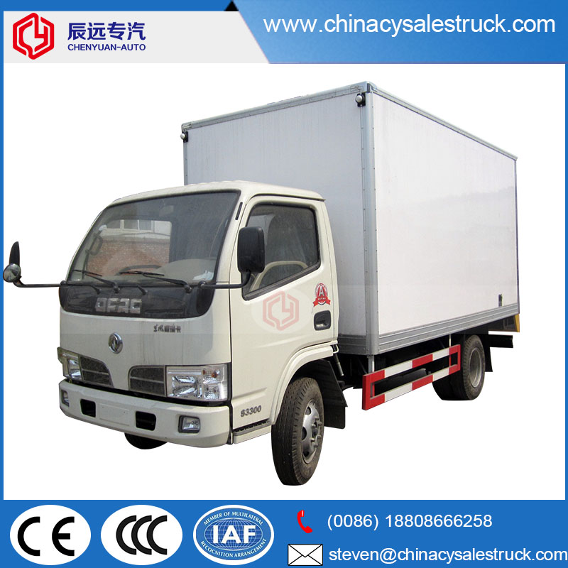 356d7baae4 Dongfeng brand 5 tons china van cargo delivery truck price with cheaper  price