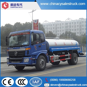 portable water truck,portable water truck for sale,auman