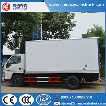 bb3585b36b Dongfeng brand 5 tons china van cargo delivery truck price with cheaper  price ...
